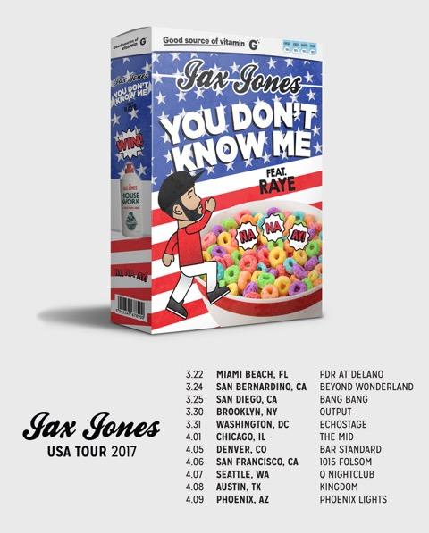Jax Jones USA Tour 2017